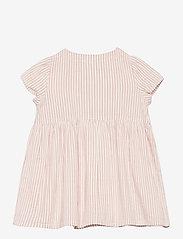 Lindex - Dress seersucker - kleider - pink - 1
