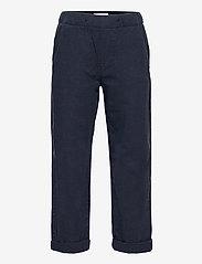 Trousers Linnen - BLUE