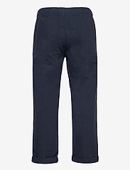 Lindex - Trousers Linnen - trousers - blue - 1