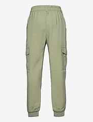 Lindex - Trousers Arlene - trousers - green - 1