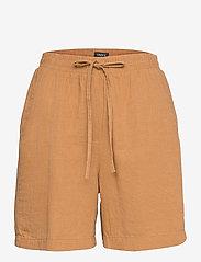 Lindex - Shorts Gillian linen - shorts casual - beige - 0