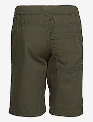 Lindex - Shorts Summer poplin - shorts - green - 1