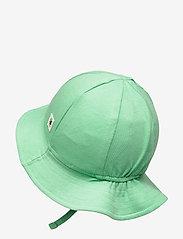 Lindex - Sun hat jersey - solhat - green - 1