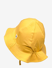 Lindex - Sun hat jersey - solhat - yellow - 1