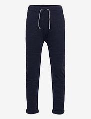 Lindex - Thin slub trousers   knee - sweatpants - blue - 0