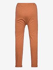 Lindex - Thin slub trousers   knee - sweatpants - brown - 1