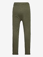 Lindex - Thin slub trousers   knee - sweatpants - khaki - 1