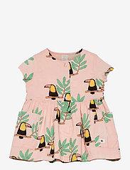 Lindex - Dress woven Toucan - jurken & rokjes - coral - 0