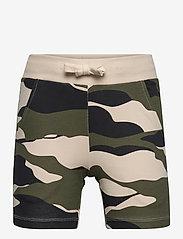 Lindex - Shorts Jersey camo - shorts - green - 0
