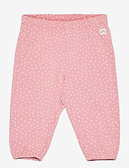 Lindex - Trousers jersey puff - trousers - pink - 0