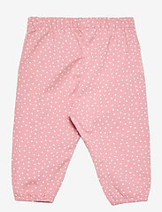 Lindex - Trousers jersey puff - trousers - pink - 1