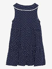 Lindex - Dress Evelina Viscose ao print - kleider - blue - 1