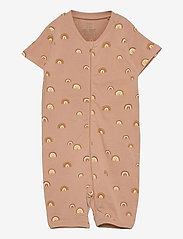 Lindex - Pyjamas romper rainbow - natdragter - beige - 0
