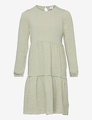 Lindex - Dress tricot solid - kleider - green - 0