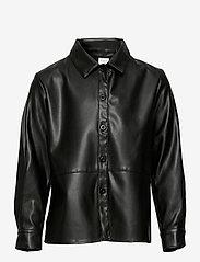 Lindex - Shirt Soho - shirts - black - 0