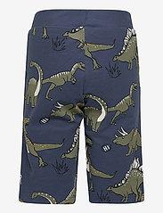 Lindex - Shorts Jersey aop dino - shorts - blue - 1