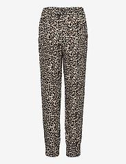 Lindex - Trousers viscose Leo puff - trousers - beige - 1