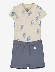 Lindex - Set wrap shorts jellyfish star - 2-delige sets - blue - 0