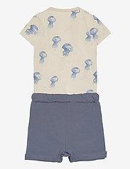 Lindex - Set wrap shorts jellyfish star - 2-delige sets - blue - 1