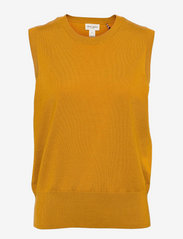 Lindex - Vest Evelina - knitted vests - yellow - 0