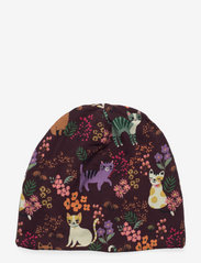 Jersey beanie sweet cats - LILAC