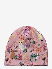 Lindex - Jersey beanie sweet cats - beanie - pink - 1