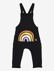 Lindex - Bib Rainbow pocket - kurzärmelig - black - 0