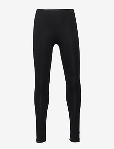 Basic leggings solid - leggings - black