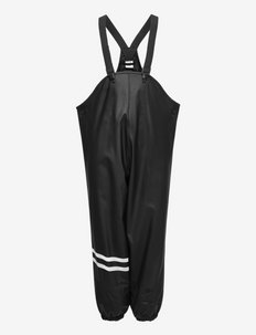 Raintrousers fleece lining uni - pantalons - black