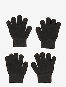Gloves knit magic 2p - BLACK