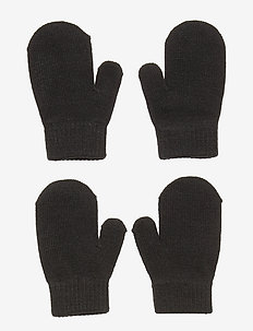Mittens knit  magic 2p - BLACK