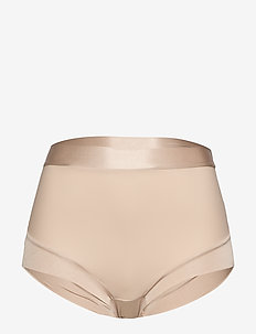 Girdle Brief Matt Shiny light - BEIGE