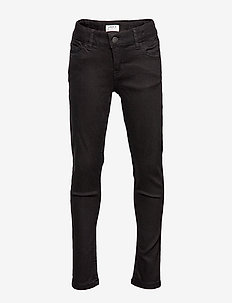 Denim trousers Black super str - BLACK