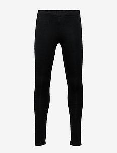 Leggings basic solid - leggings - black
