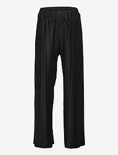 Trousers Pamela plissee - trousers - black