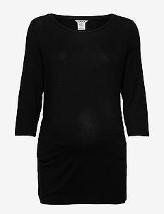 Top MOM Vira - basic t-shirts - black
