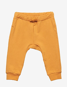 Trousers with back appliqué - DK DUSTY YELLOW