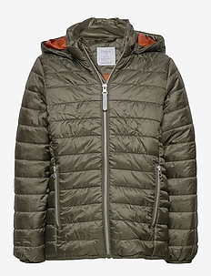 Jacket Ludvig Light Padded - DK KHAKI GREEN