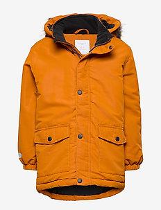 Padded jacket - LT BROWN