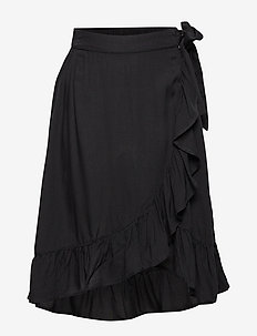 Skirt wrap black - BLACK