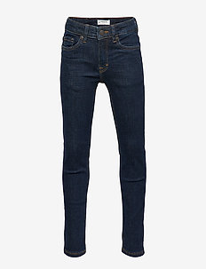 Trousers denim slim Jim rinse - DARK DENIM