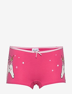 Boxer SG unicorn at sides - PINK
