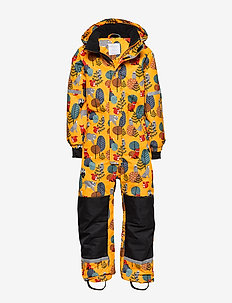 Patterned overall - DARK DUSTY YELLOW