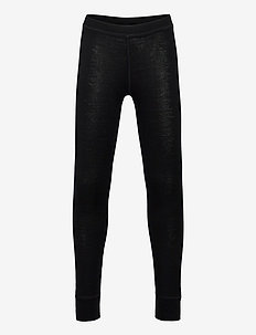 Long johns merino BK uni solid - shorts et pantalons - black