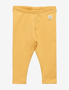 Jersey leggings - DUSTY YELLOW