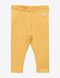 Jersey leggings - DUSTY YELLOW