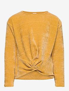 Sweater cut n sew chenille - DK YELLOW