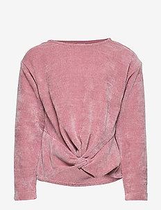 Sweater cut n sew chenille - PINK