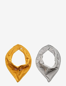 Scarf 2 pack SN - DK DUSTY YELLOW