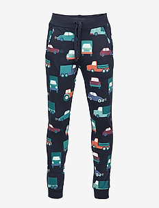 Trousers colorful cars AOP - DARK NAVY